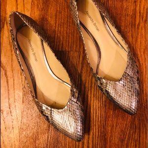 Alexandre Birman snake skin shoes